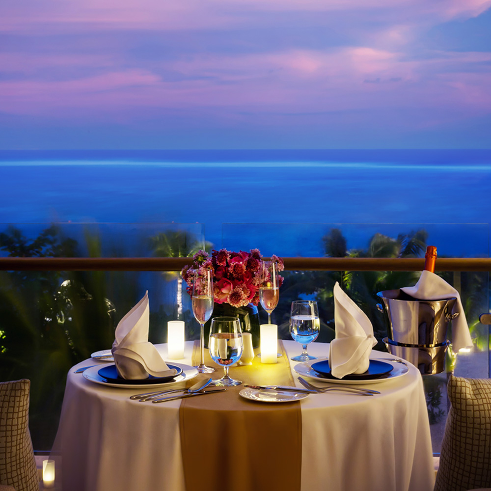 Romantic Dinner at Mulia Resort